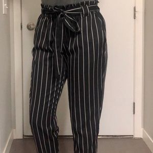 Ankle Length Striped pant